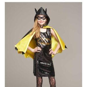 Superhero Batgirl HALLOWEEN costume size 6